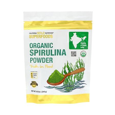 ผงสาหร่ายสไปรูลิน่าออร์แกนิค organic_raw_spirulina_powder_health platz ช่วยดูแลสุขภาพแคลอรี่ต่ำ superfoods thailand healthplatz