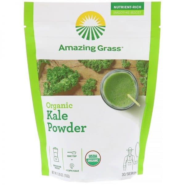 Organic Kale Superfood Powder Thailand Health Platz