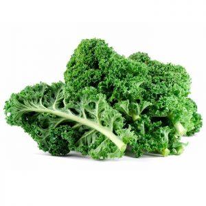 Raw organic superfood kale