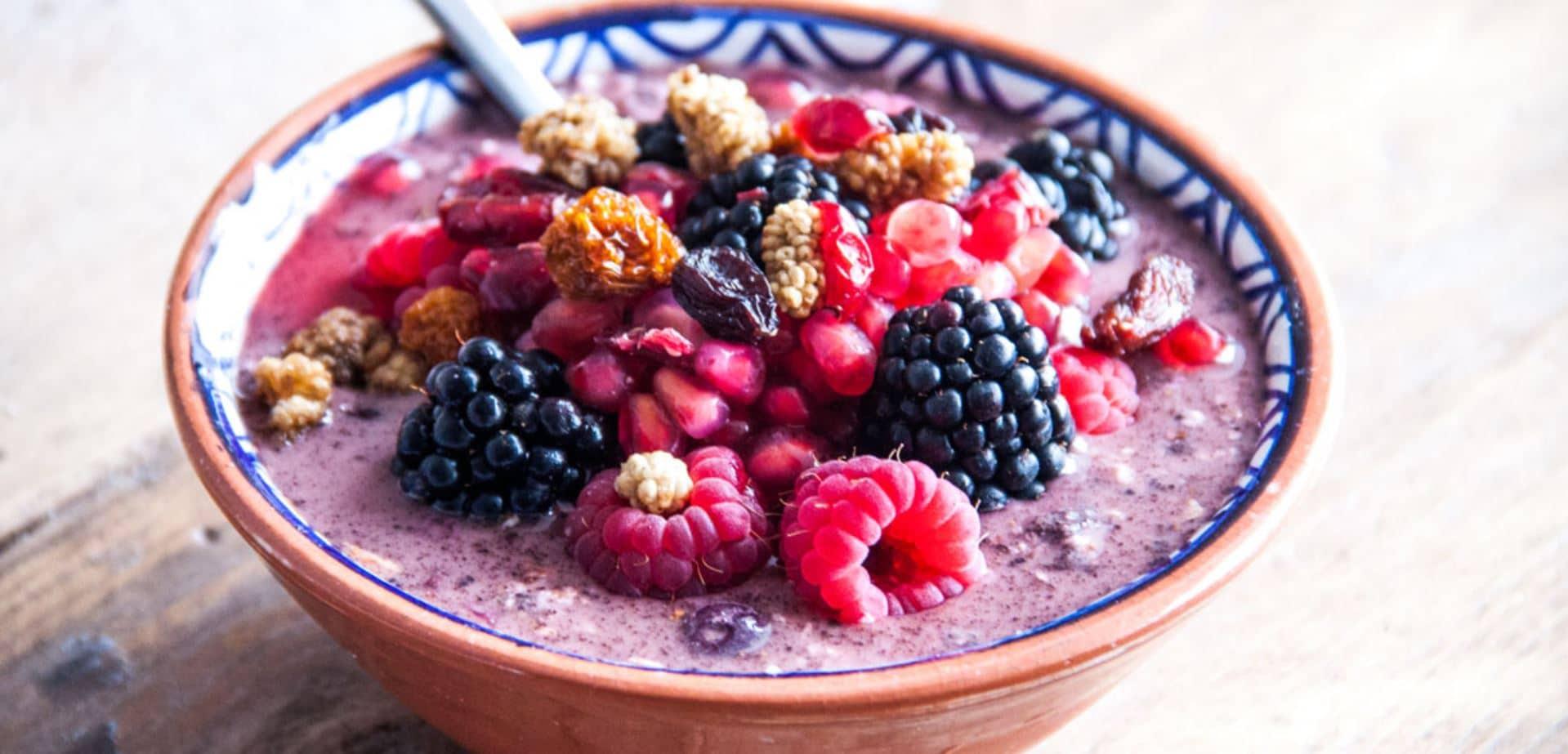 acai berry bowl healthy living