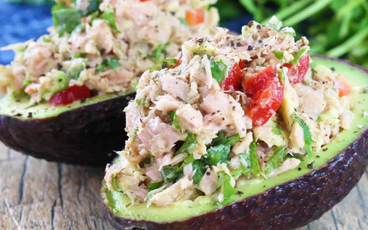tuna avocado salad intermittent fasting diet