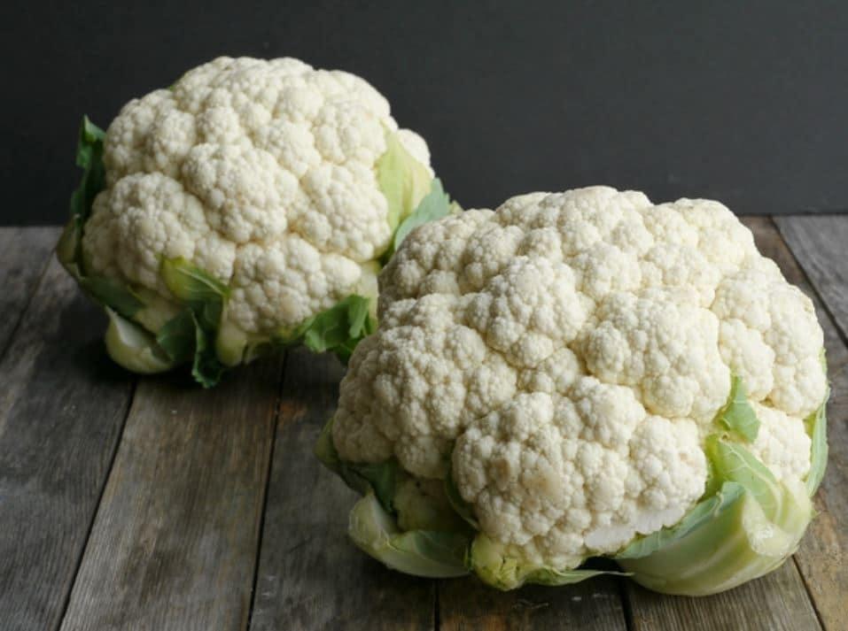 ดอกกะหล่ำ cauliflower-heads ช่วยระบบเผาผลาญ