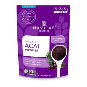 freeze dried Organic Acai Powder thailand antioxidant