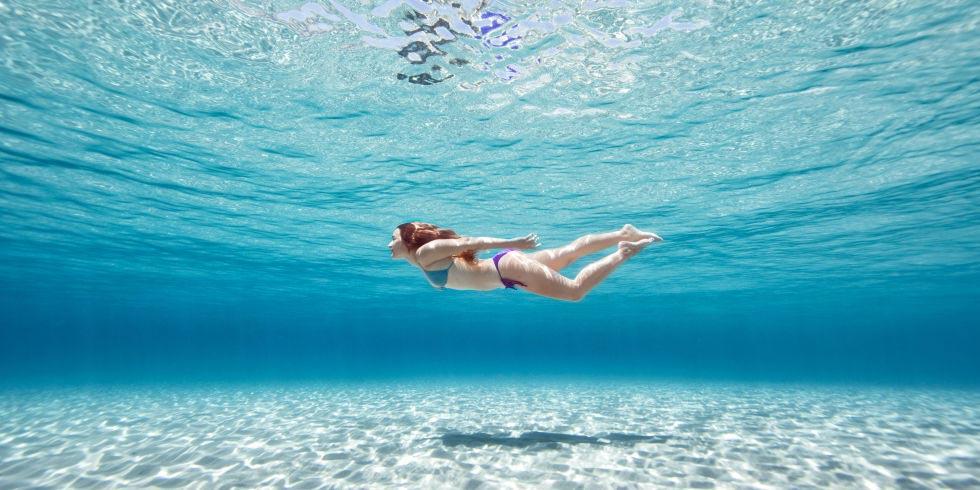 ว่ายน้ำ คาร์ดิโอ swimming cardio workout