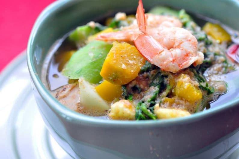 แกงเลียงกุ้งสด แคลอรี่ organic online shop thailand