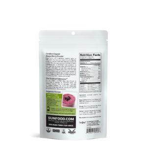 Maqui berry EU USDA organic powder-healthplatz superfood online back