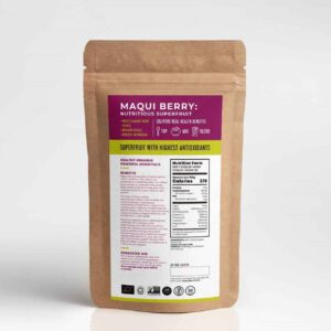 ผงมากี้เบอร์รี่ออร์แกนิค Maqui berry powder Organic100%-healthplatz superfood online