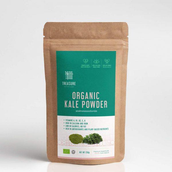 ผักเคล Kale Organic Kale Powder