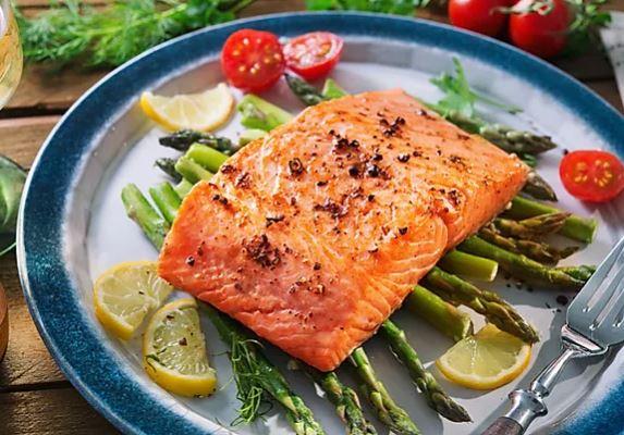 26 แซลม่อนหน่อไม้ฝรั่ง วิธีทำ ไอเดีย อาหารคลีน Healthplatz online organic superfoods store healthy menu