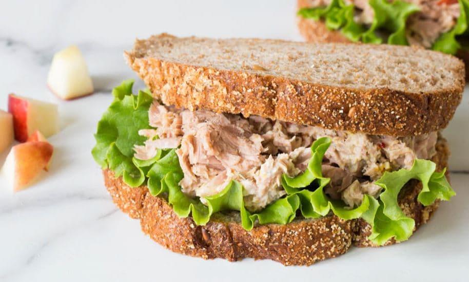5 tuna sandwich ไอเดีย อาหารคลีน Healthplatz online organic superfoods store healthy menu