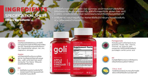 แอปเปิ้ลไซเดอร์ Goli apple cider vinegar gummies benefits-Healthplatz banner