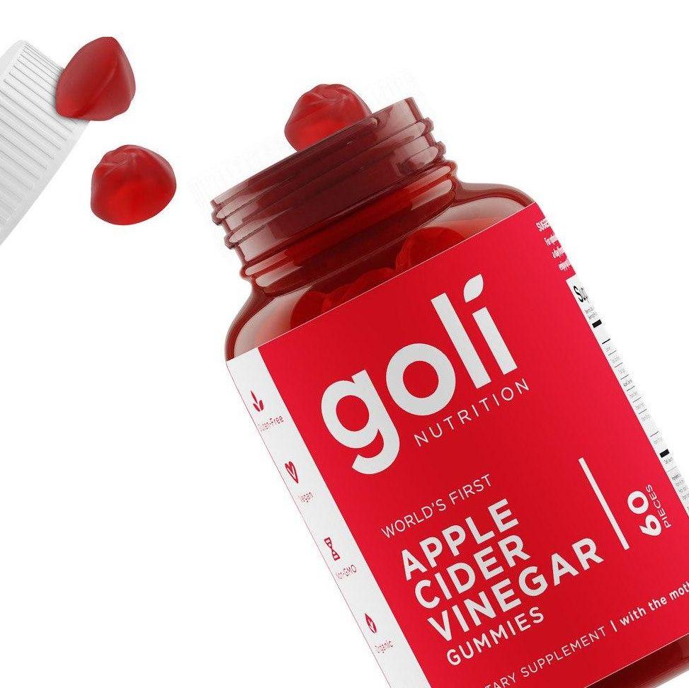 แอปเปิ้ลไซเดอร์ ACV-Goli organic apple cider vinegar gummies-Healthplatz