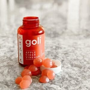 แอปเปิ้ลไซเดอร์ Goli apple cider vinegar gummies red-Healthplatz