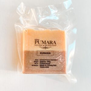 Eurasia Pumara Organic Soap สบู่ออร์แกนิก สบู่ภุมรา แฮนด์เมดเกรดพรีเมี่ยมจากจังหวัดเชียงใหม่-Healthplatz