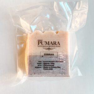 Zebran Pumara Organic Soap สบู่ออร์แกนิก สบู่ภุมรา แฮนด์เมดเกรดพรีเมี่ยมจากจังหวัดเชียงใหม่-Healthplatz
