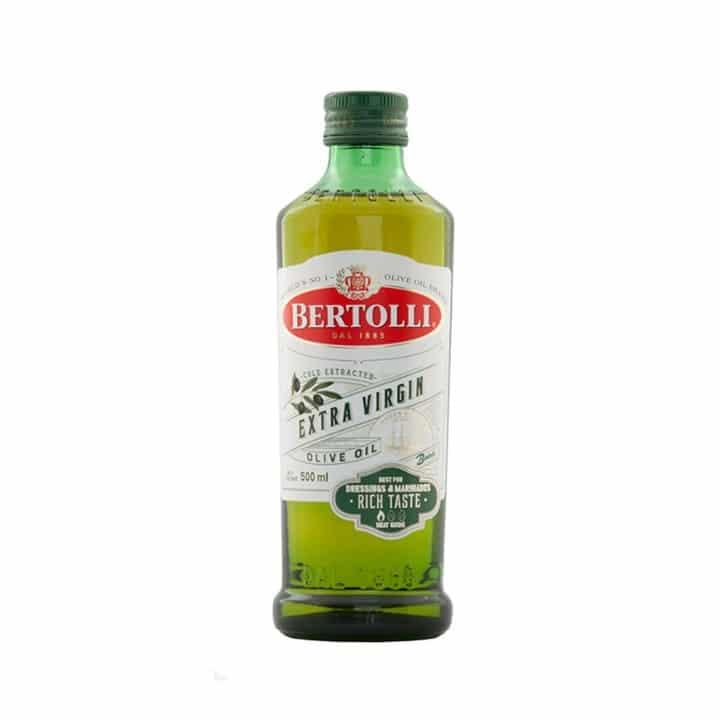 Bertolli extra virgin olive oil น้ำมันมะกอกสำหรับทานสดและใส่สลัด