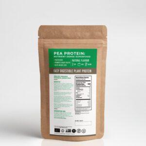 organic pea protein ประโยชน์ พีโปรตีนยี่ห้อไหนดี TREASURE_organic PeaProtein-healthplatz