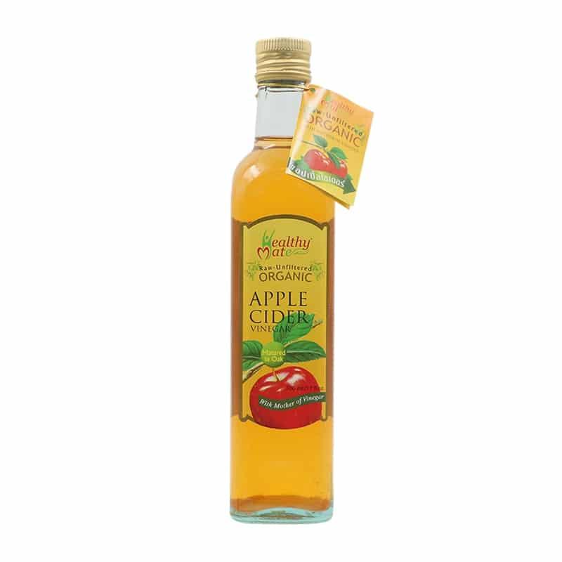 healthy mate ACV น้ำส้มสายชูแอปเปิ้ลไซเดอร์ออร์แกนิคแฮปปี้เมท
