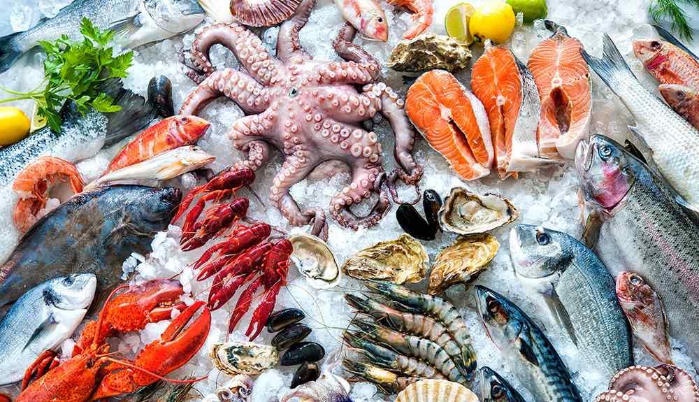ซุปเปอร์ฟู้ด-ปลาทะเล-อาหารทะเล-Omega-3 สไปรูลิน่า-Healthplatz